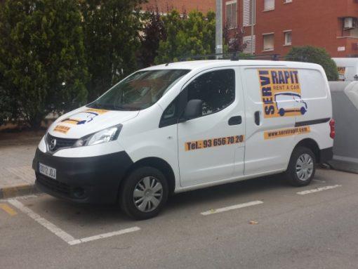 Alquiler furgoneta pequeña Sant cugat