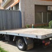 Alquiler camion descubierto Sant Cugat