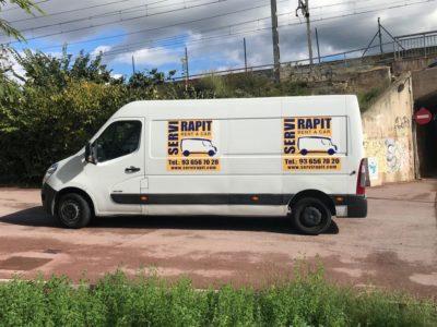 alquiler de furgonetas en Piera