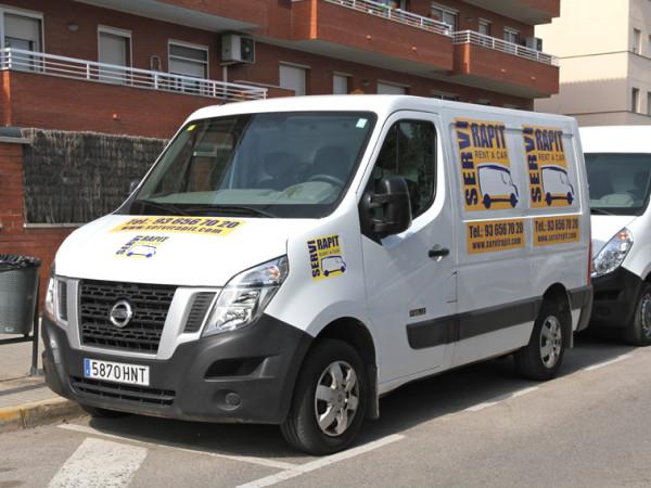 Alquiler furgoneta mediana Martorell