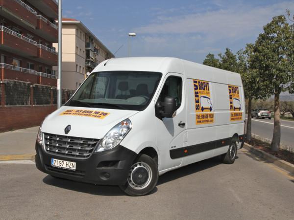 Alquiler furgoneta mediana Sant boi