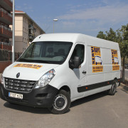 alquiler furgoneta Casteldefels