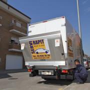 Alquiler camion plataforma Sant Cugat