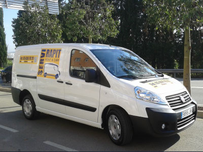 alquiler de furgonetas en Sant Joan Despi