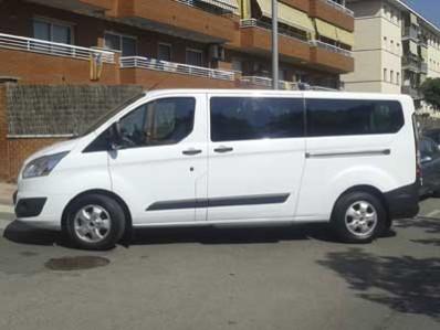 alquiler de minibus barcelona