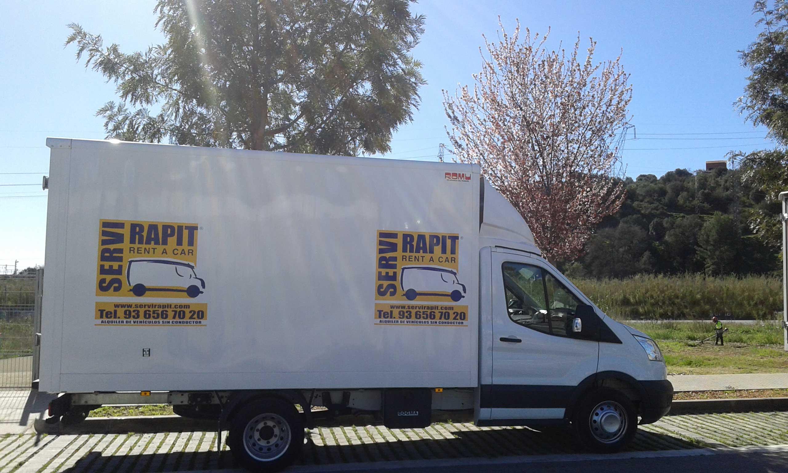 Alquiler camion Martorell