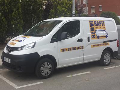 alquiler furgonetas Hospitalet de Llobregat