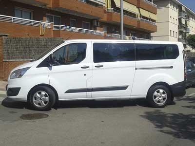 Alquiler minibus Cornella