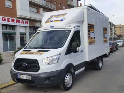 Alquiler camion Martorell