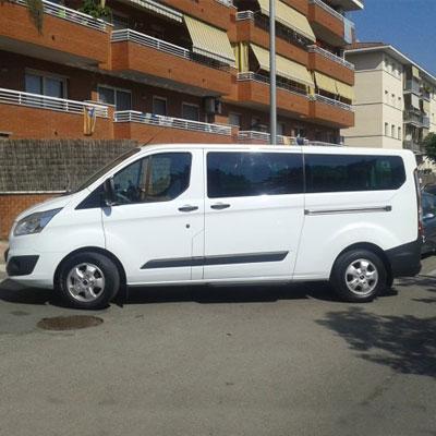 alquiler furgoneta 9 plazas Barcelona