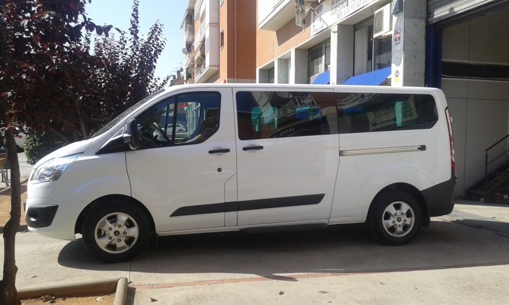 alquiler de furgoneta en Gava