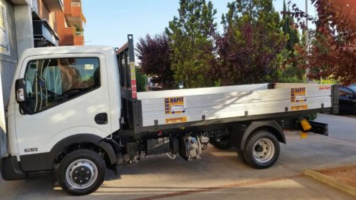 alquiler camion volquete barcelona