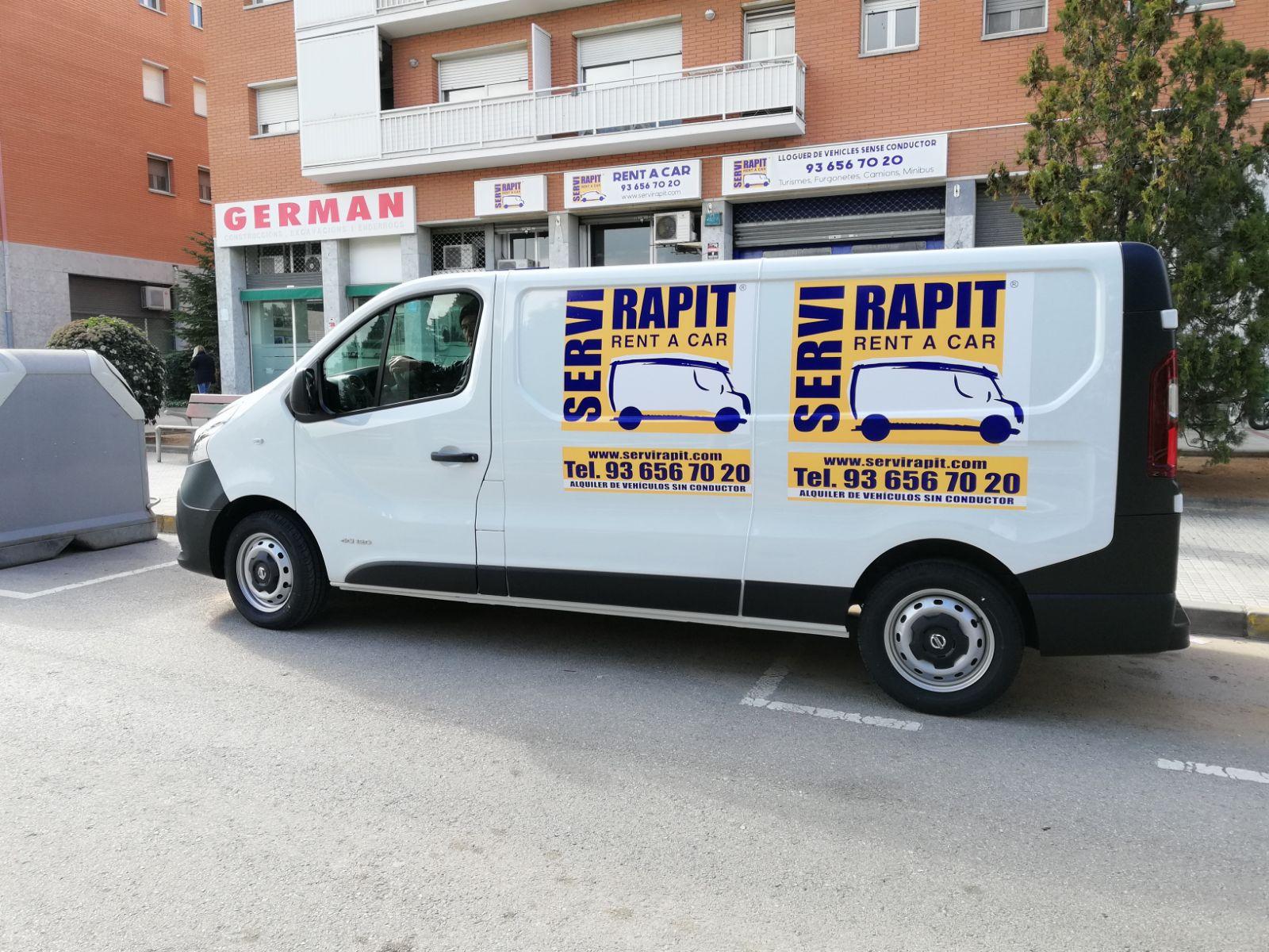 alquilar furgoneta barata