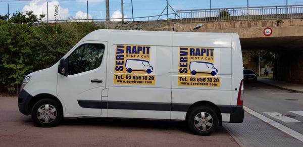 alquilar furgoneta en Begues